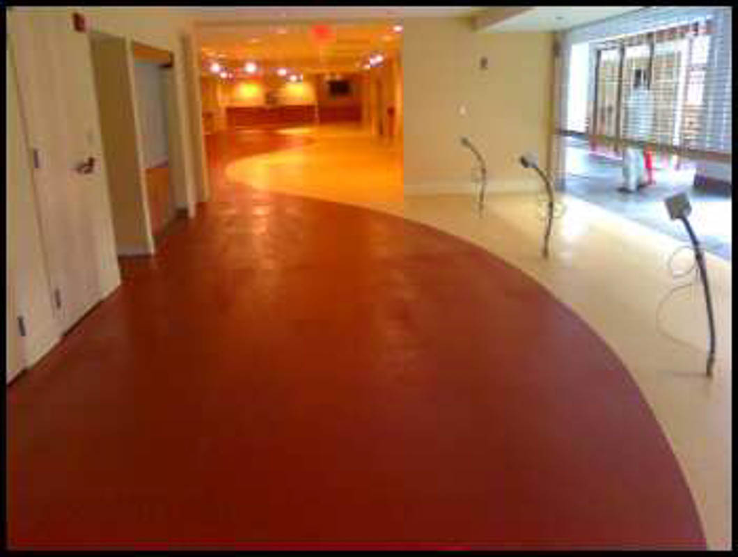 DYNA-PUR Brushable Polyurea is a Decorative Commercial Floor