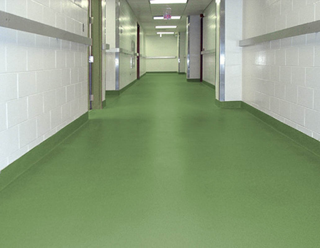 DYNA-PUR Brushable Polyurea used on Commercial Floor