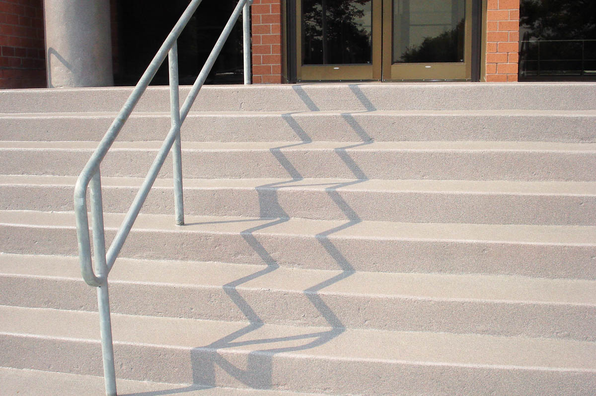 DYNA-PUR Brushable Polyurea on Commercial Stairs