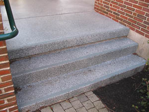 DYNA-PUR Brushable Polyurea for Decorative Stairs and Landing