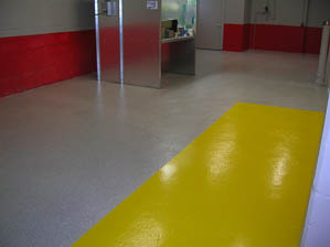 DYNA-PUR Brushable Polyurea Marking Safety Area