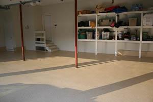 DYNA-PUR Brushable Polyurea Brushable on Garage Floor