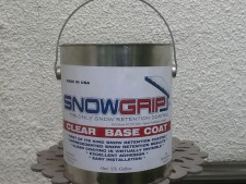 SnowGrip - The only snow retention coating
